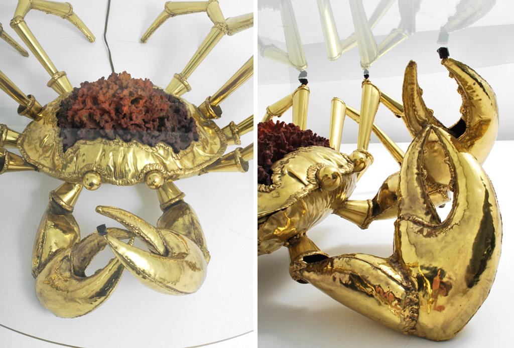 5 exclusivos muebles con un diseño de terror - crab-table