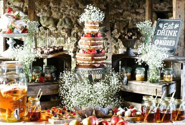 7 originales mesas de botanas que querr s tener en tu boda for Mesa de dulces para boda