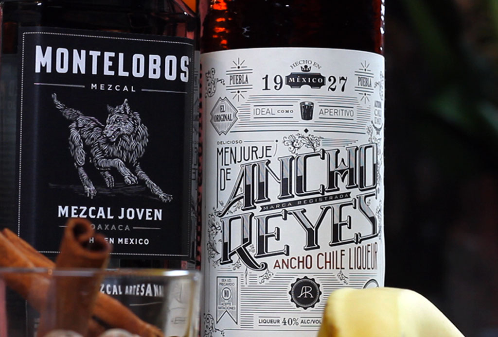 Sangre y Fuego: un cóctel con mezcal MUY mexicano - mezcal