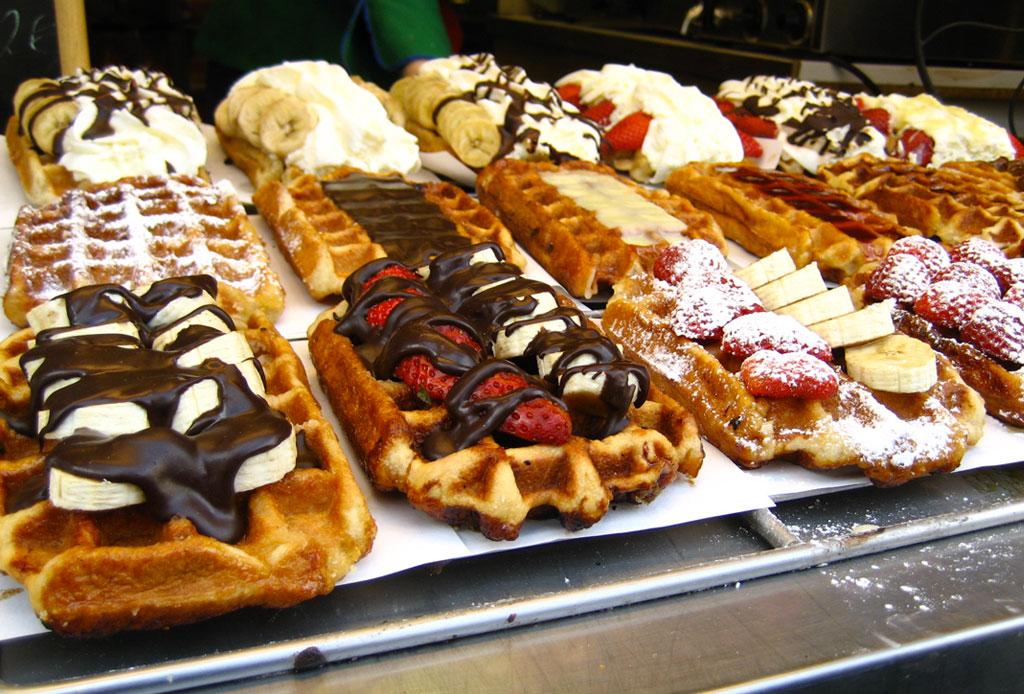 Prepara un auténtico waffle belga con esta receta