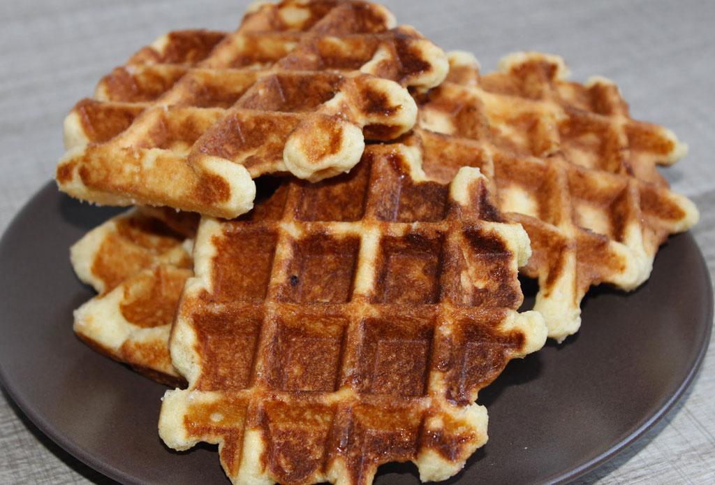 Prepara un auténtico waffle belga con esta receta - waffles-belgas