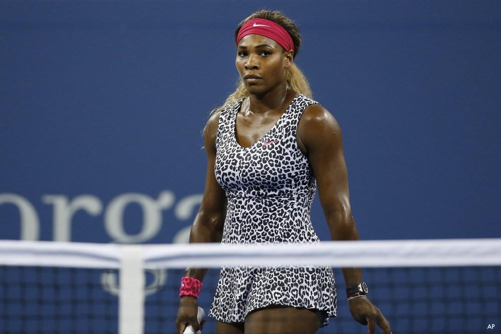 Los mejores outfits de Serena Williams - animal-print