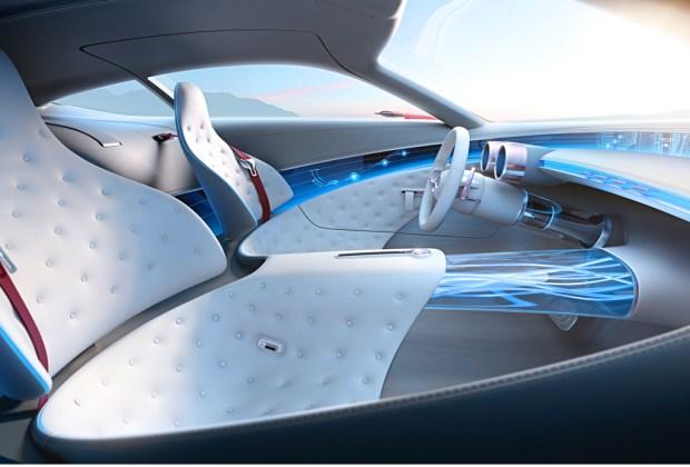 Conoce el impresionante Vision Mercedes-Maybach 6 - asientos-1024x694
