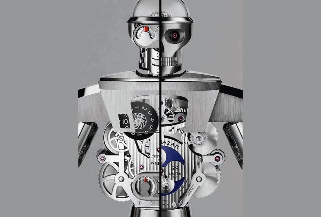Balthazar: Un impresionante robot-reloj de dos caras - balthazar-3