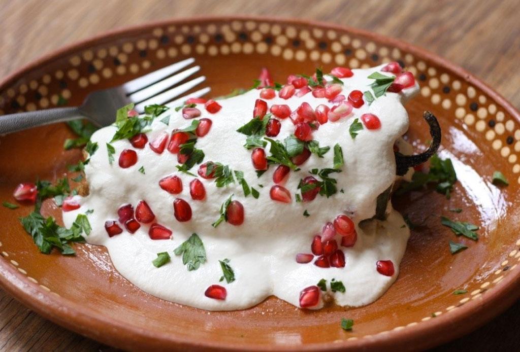 Los mejores lugares para comer chile en nogada en Puebla