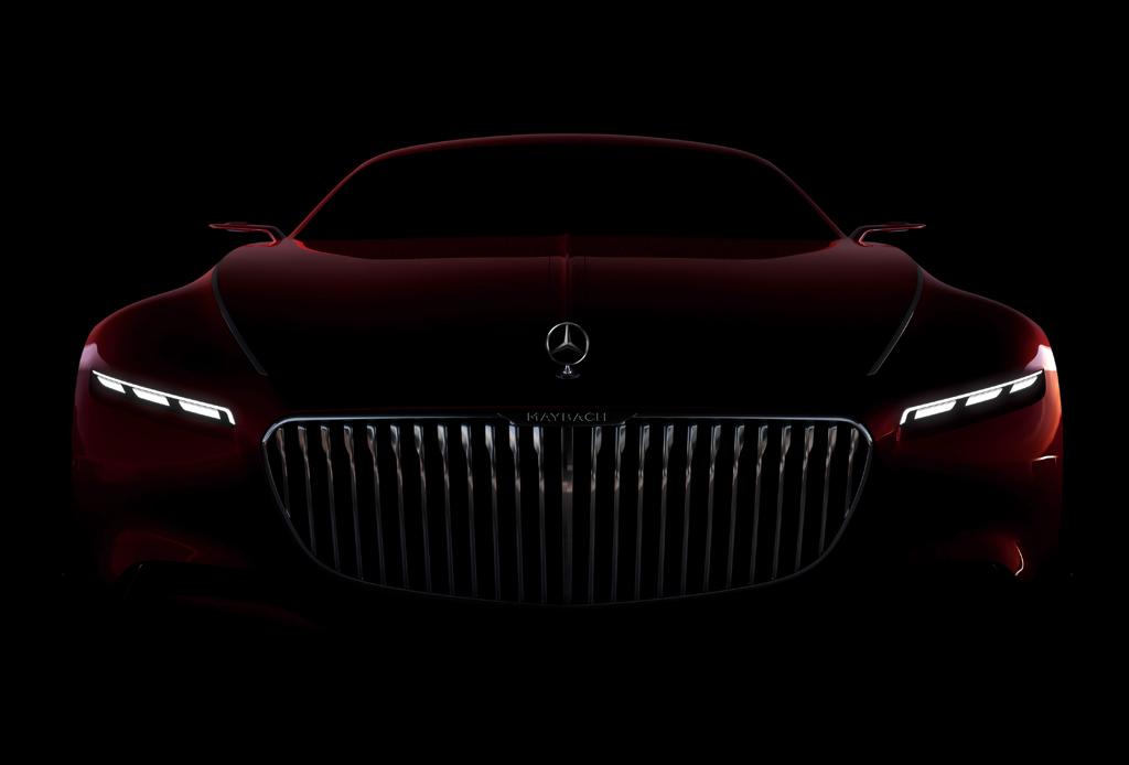 Conoce el impresionante Vision Mercedes-Maybach 6