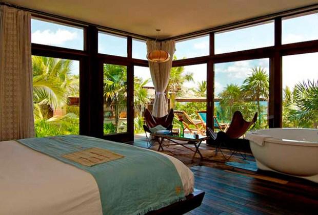13 hoteles en Tulum para ir con tu pareja - be-tulum-1024x694