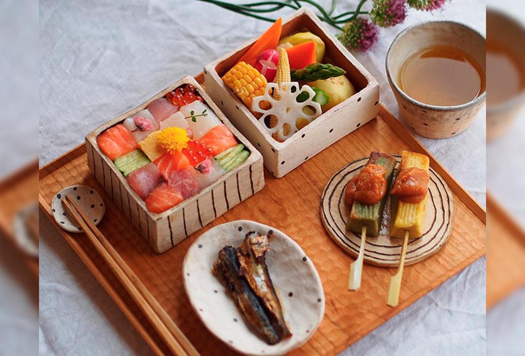 Mosaic Sushi el plato favorito en Instagram - mosai-sushi-platos