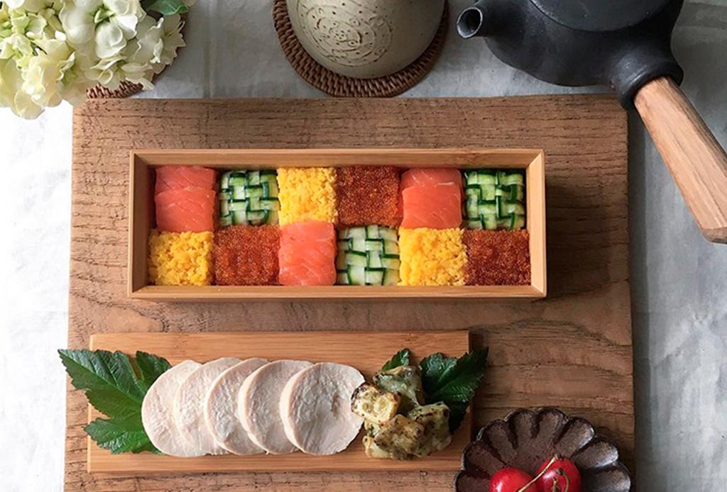 Mosaic Sushi el plato favorito en Instagram - mosai-sushi-te