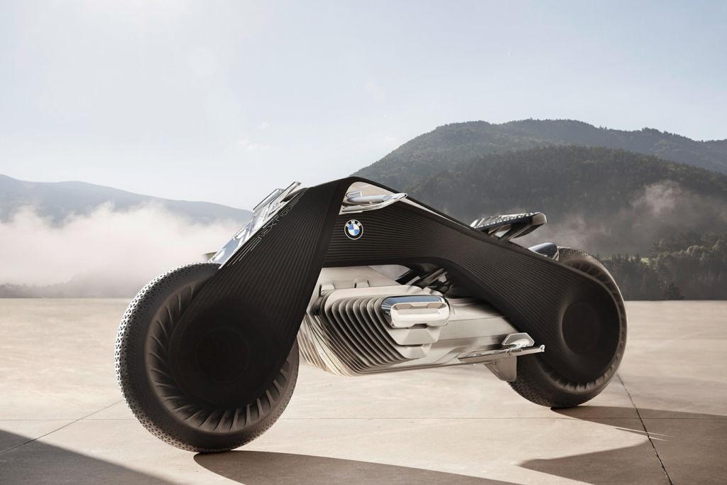 Conoce la nueva moto del futuro de BMW