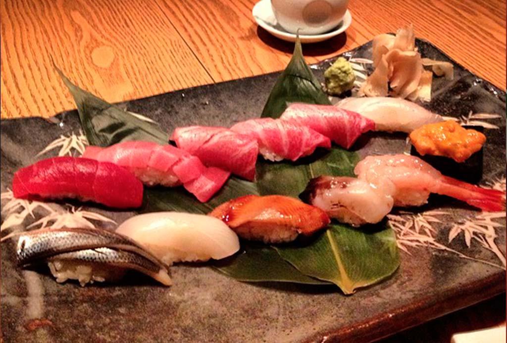 Los mejores nigiris de la CDMX - nobu-sushi
