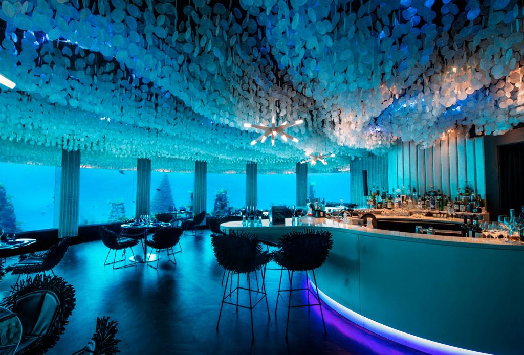 Subsix: el primer nightclub bajo el agua