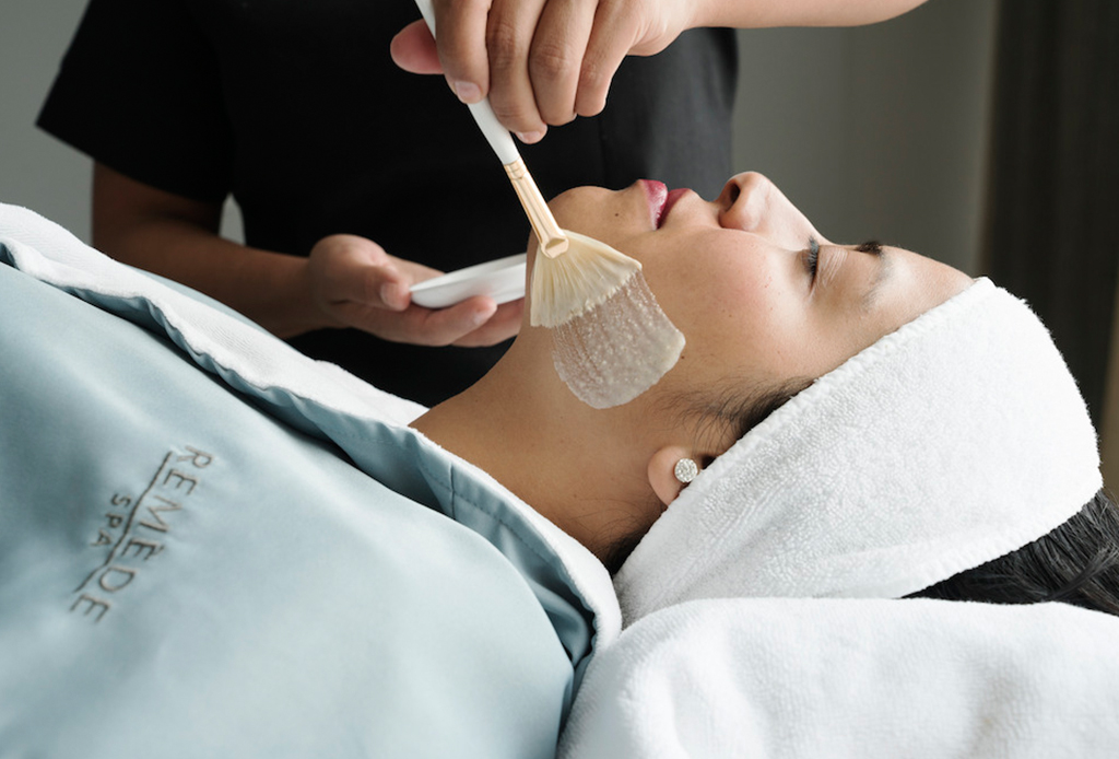 Consiéntete con el facial de colágeno soluble - remede-spa
