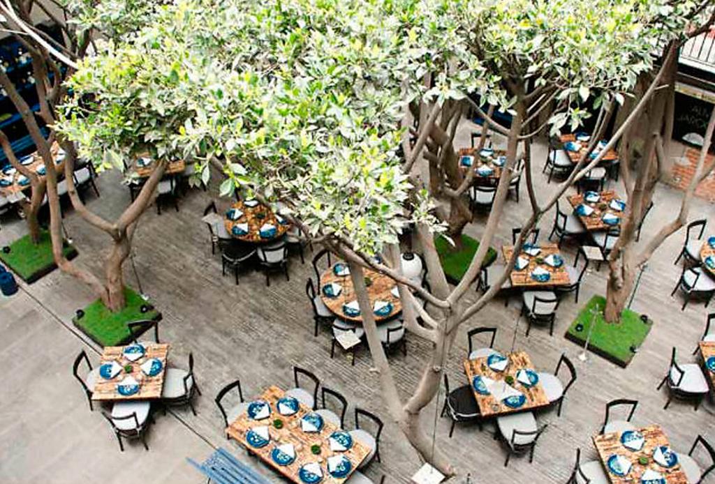 11 restaurantes dentro de hoteles de la CDMX que te sorprenderán - azul-hist
