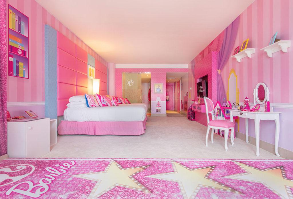 Conoce el cuarto de Barbie en el Hilton Panamá!