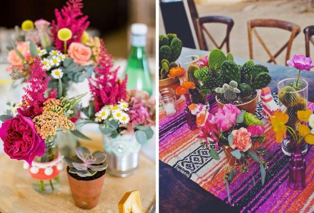 10 tips para decorar una boda con espíritu mexicano - boda-mexicana-decoracion-mesas-1024x694