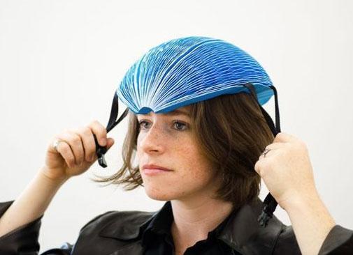 El casco plegable que todo ciclista urbano querrá - ecohelmet-2