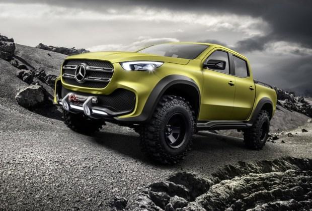En 2017 llegará la pickup X Class de Mercedes-Benz - mercedes-benz-pick-up-3-1024x694