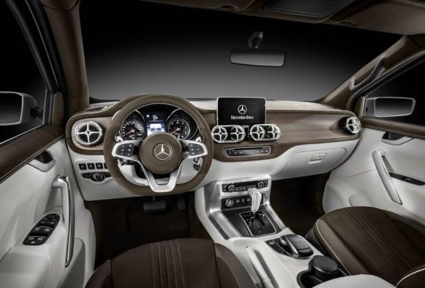 En 2017 llegará la pickup X Class de Mercedes-Benz - mercedes-benz-pick-up-5-1024x694
