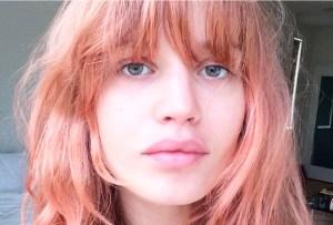 Blorange: la nueva tendencia de pelo favorita de las modelos