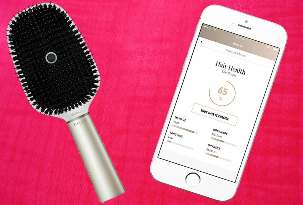 El primer cepillo inteligente para el pelo - cepillo-inteligente