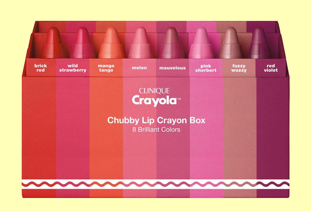 ¡Amarás los nuevos lipsticks de Crayola y Clinique! - crayola