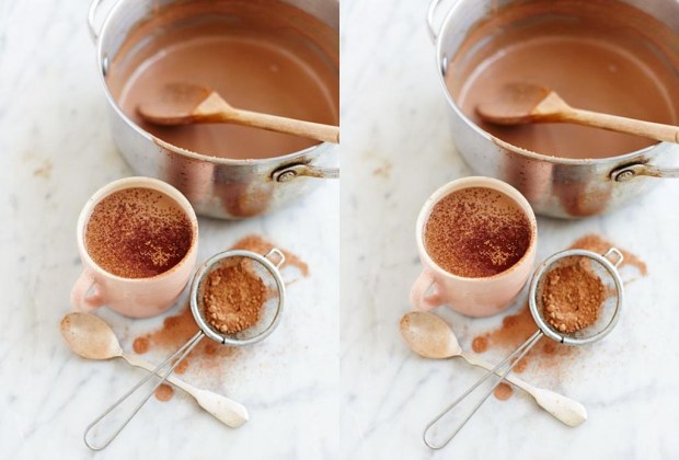 Prepara un hot chocolate libre de culpas, lácteos y azúcar - receta-chocolate-1024x694