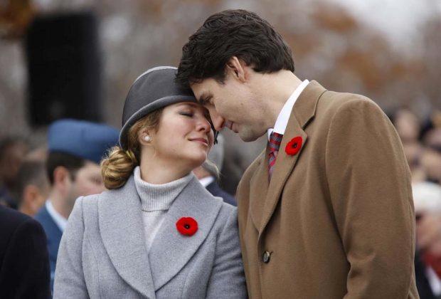 10 razones por las que amamos a Justin Trudeau - trudeau-esposa-1024x694