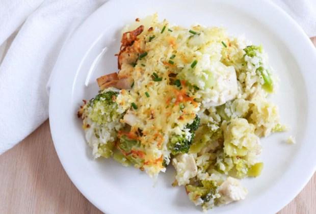 ¿Opciones de arroz? Prepara este arroz de coliflor con brócoli y queso - arroz-coliflor-ingredientes-1024x694