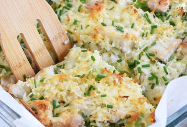 ¿Opciones de arroz? Prepara este arroz de coliflor con brócoli y queso - arroz-coliflor-receta-1024x694
