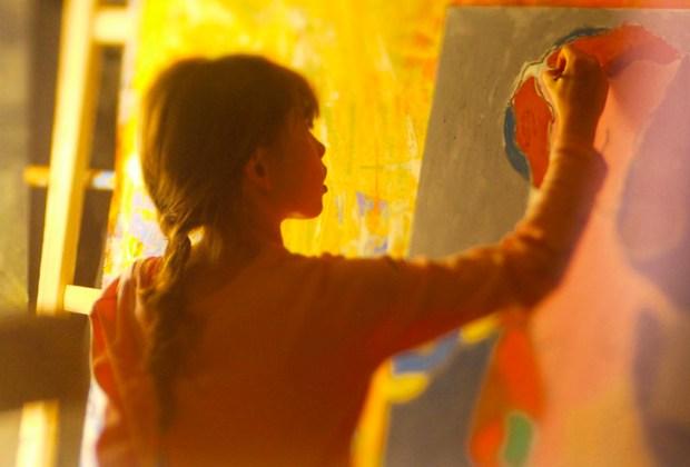 Autumn de Forest: tiene 14 años, es pintora y la comparan con Picasso y Warhol - autumn-de-forest-art-1024x694
