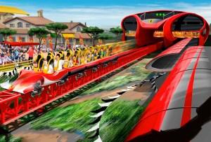 El parque de diversiones Ferrari Land conquistará España