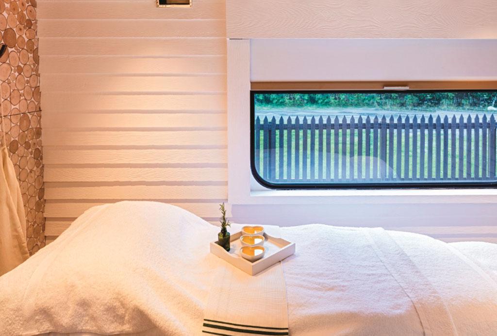 El tren en Escocia para tener una vacaciones wellness