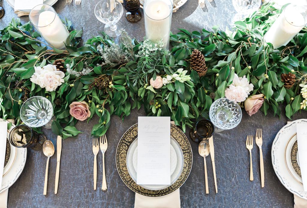 Las últimas tendencias para centros de mesa para bodas