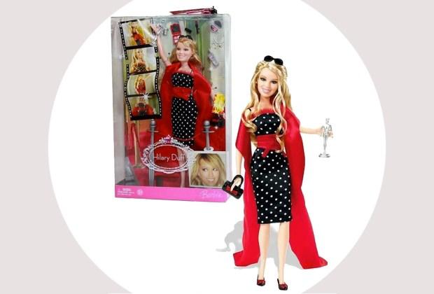Celebridades que fueron convertidas a muñecas Barbie - hilary-duff-barbie-1024x694