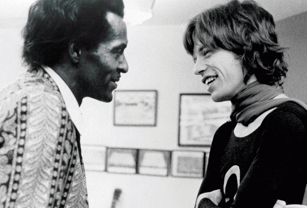 Larga vida al rock and roll con esta playlist inspirada en los temas de Chuck Berry - jagger