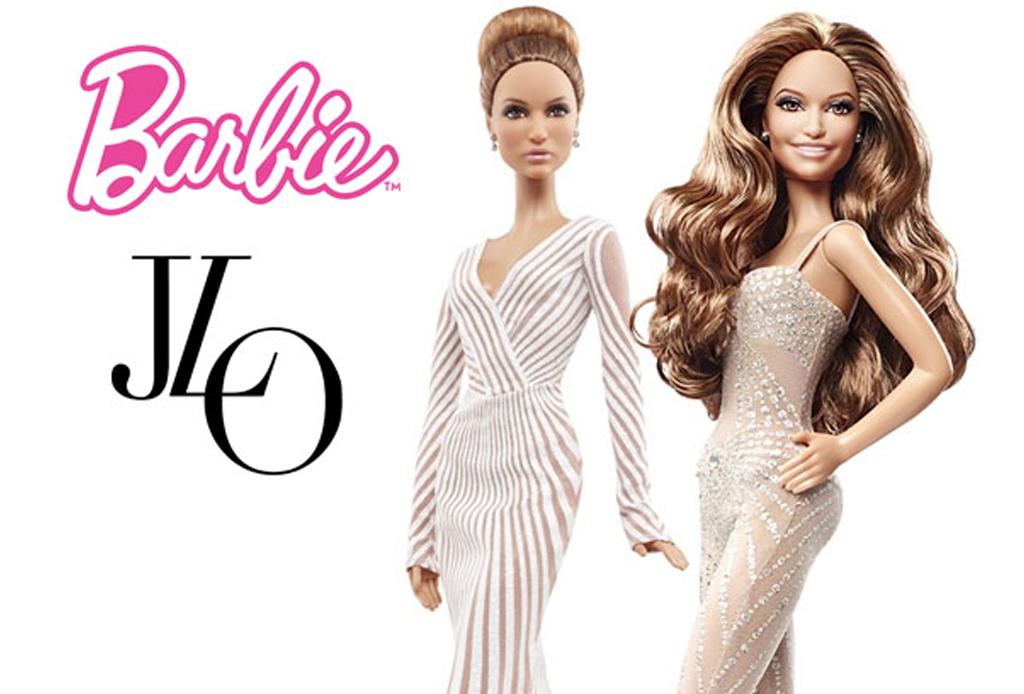 Celebridades que fueron convertidas a muñecas Barbie - jlo