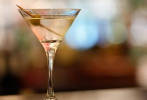 Un martini en versión ¡gelatina!