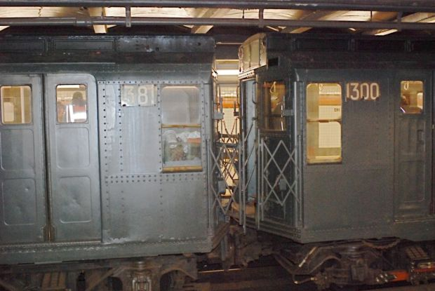 La línea secreta del metro de Nueva York con vagones antiguos - tren-1024x685