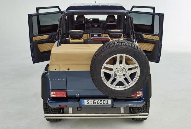 La nueva Mercedes Maybach G 650 Landaulet es la más alta hasta hoy - mercedes-maybach-1024x694