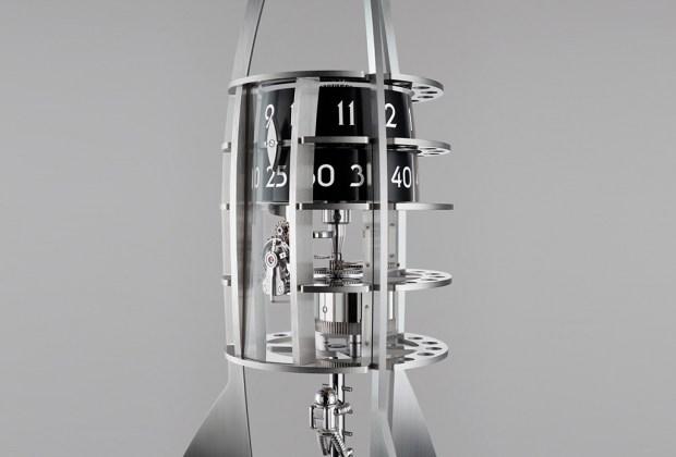 Destination Moon: el reloj que tiene forma de cohete - reloj-1024x694
