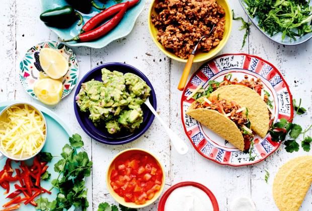 Los remakes de comida carnívora convertidos a platillos veganos - tacos-1024x694