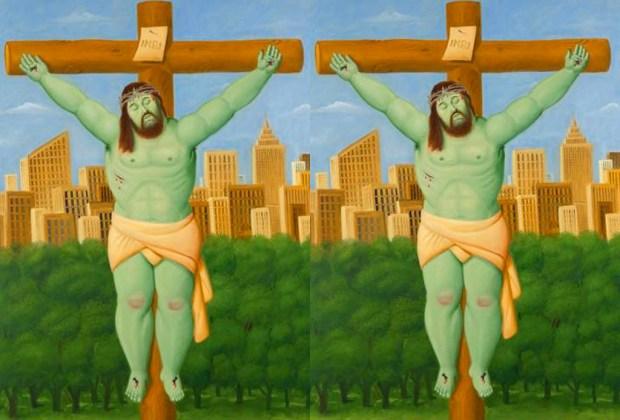 La obra de Botero llega a México al CECUT Tijuana - botero-cristo-ny-1024x694