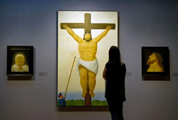 La obra de Botero llega a México al CECUT Tijuana - botero-via-crucis-jesus-1024x694