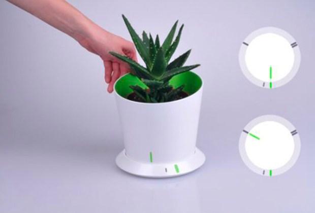 ¿Saldrás pronto de viaje? Esta macetas inteligentes riegan automáticamente tus plantas - mot-1024x694