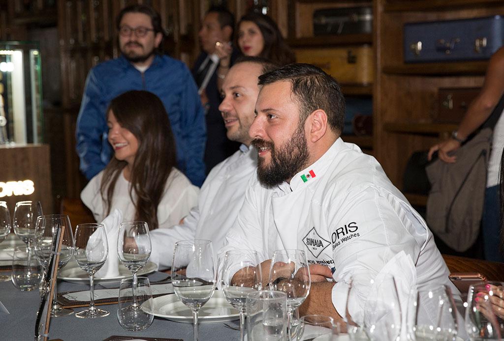 Fanáticos de los relojes: Oris une el mundo de la relojería con la gastronomía - oris-5