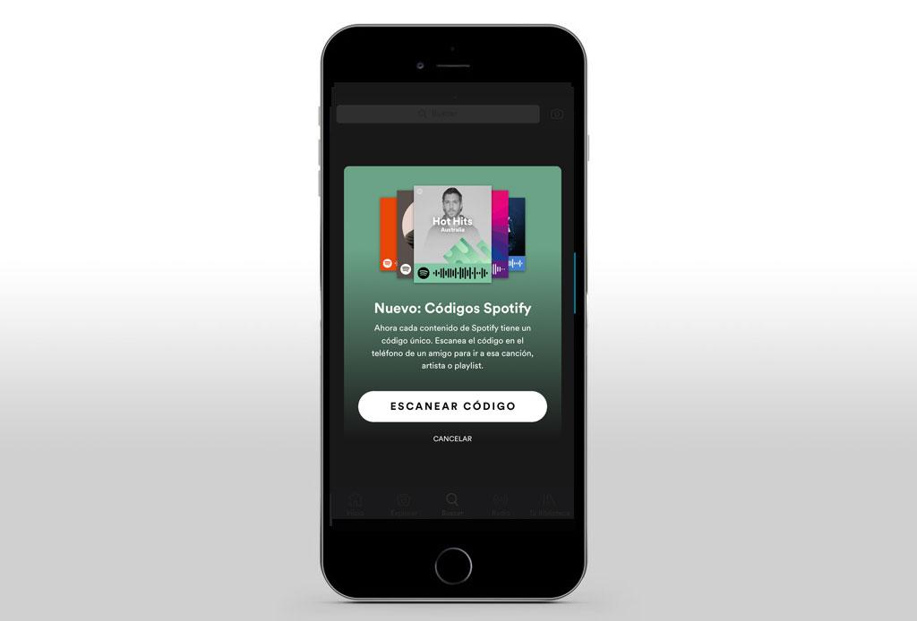 Te decimos cómo crear y compartir tu música con los códigos de Spotify - th-8
