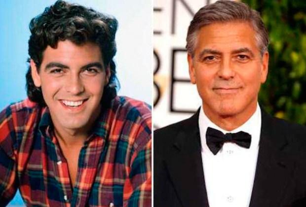Así se ven hoy en día tus actores favoritos de los 90's - clooney-1024x694