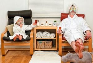 Un taller de spa entre padre e hija, ¡la mejor forma de celebrar!