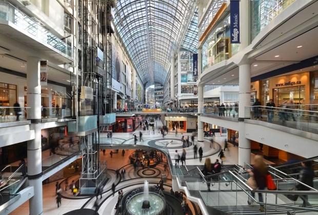 ¿De shopping en Toronto? Estas son nuestras recomendaciones - eaton-centre-1024x694